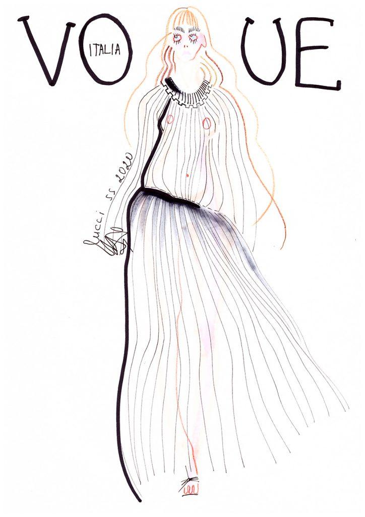 Флешмоб Vogue Italia
