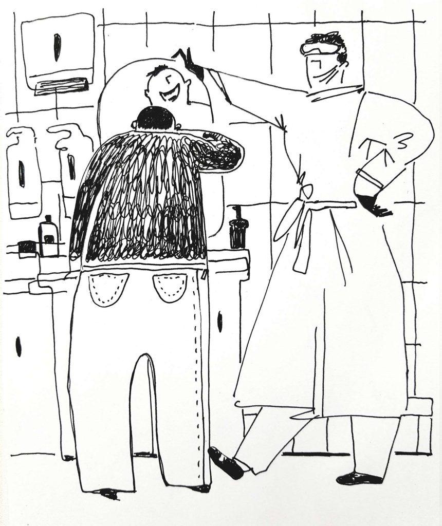 «Безболезненная стоматология» Гелевая ручка,бумага. 40х50 см 2019 год
