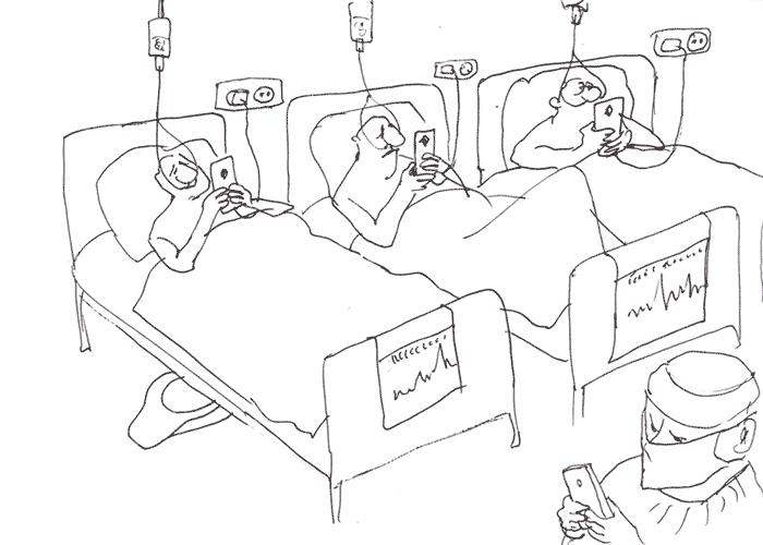 В больнице / In hospital