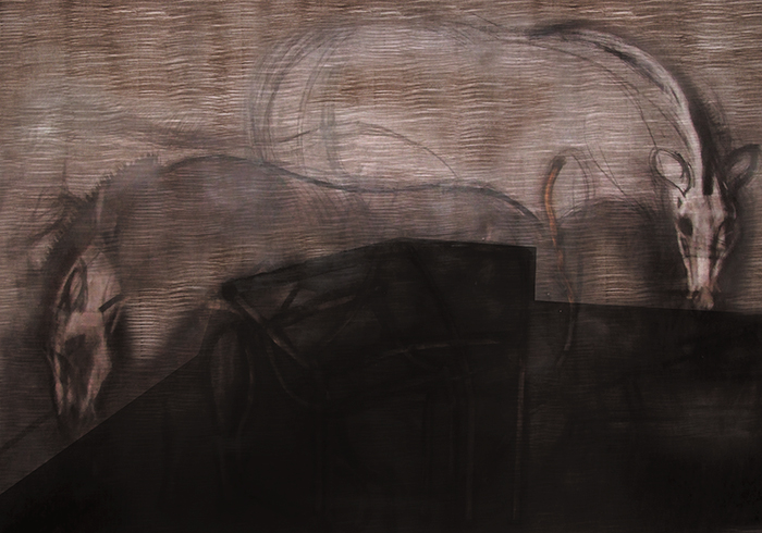 12.Untitled, 150 x 200 cm, drawing on paper, 2006